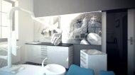 Gabinet dentystyczny, aranżacja wnętrza