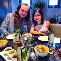para na kolacji w restauracji